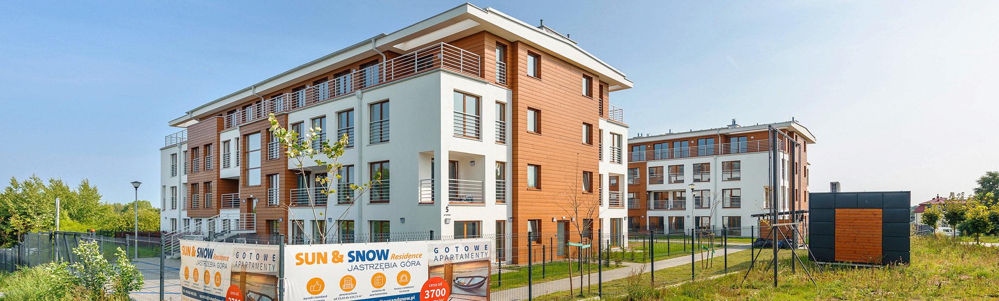 Apartamenty Sun&Snow Residence Jastrzębia Góra