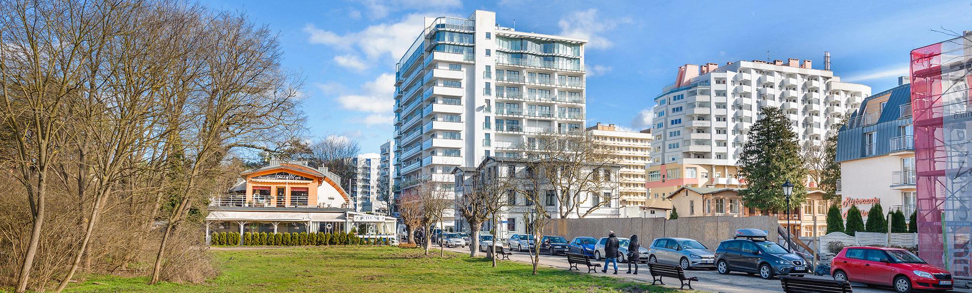 Wechta - Promenada Gwiazd, Apartament 602 z widokiem na morze